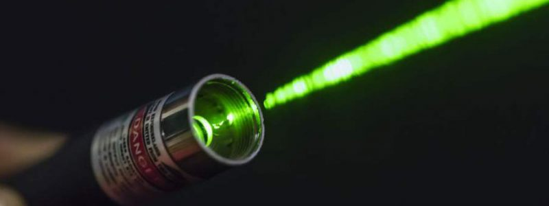 Can you take a laser pointer on a plane?