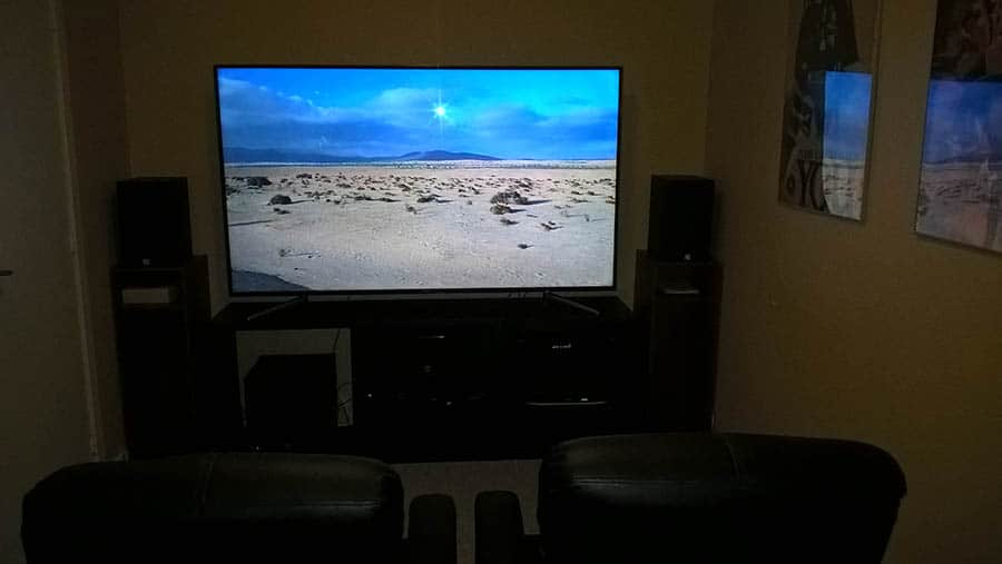 Home Theater Setup for Small Room Ideas - Sky Tech Lasers on