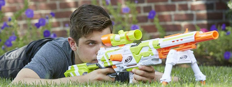 Best Nerf Sniper – Is it the Modulus Longstrike with Scope?