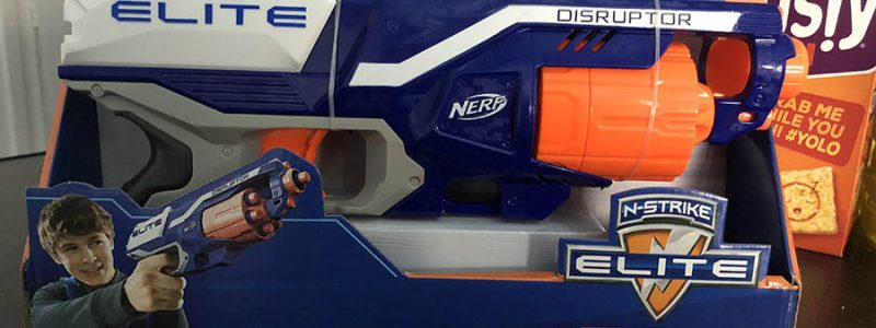 Nerf Elite Disruptor Review – Cheap & Cheerful Fun